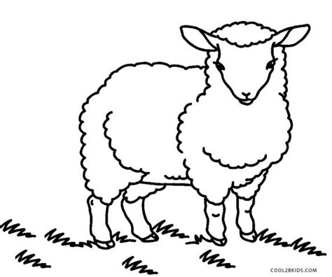 sheep coloring pages free printable sheep coloring pages for cool2bkids