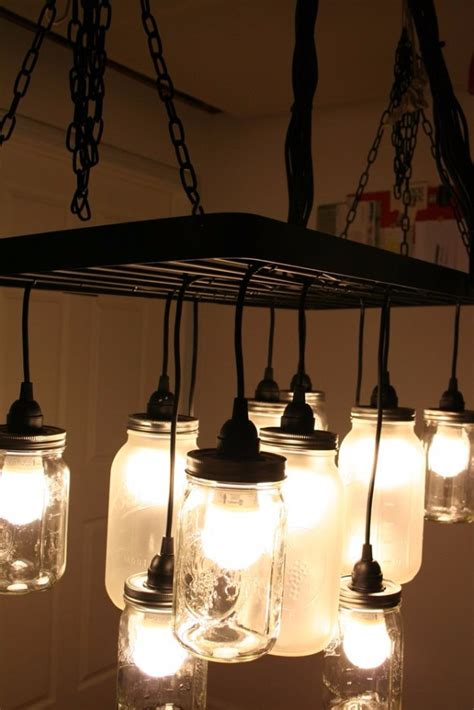 Diy Kitchen Light Fixtures 30 Diy Jar Lighting Ideas On A Budget