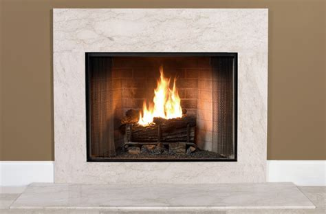 antique beige marble fireplace surround facing