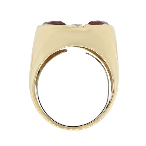 Yellow Gold Citrine by 14k Yellow Gold Citrine Ring