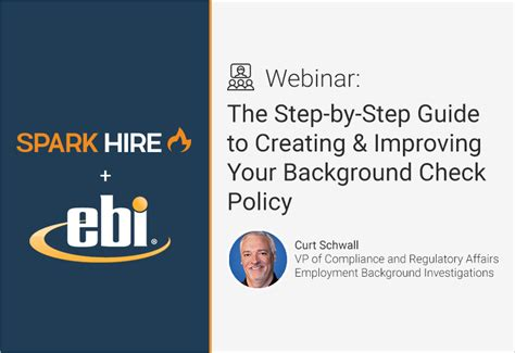 background check policy webinar recording the step by step guide to creating
