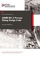 asme  process piping design code training