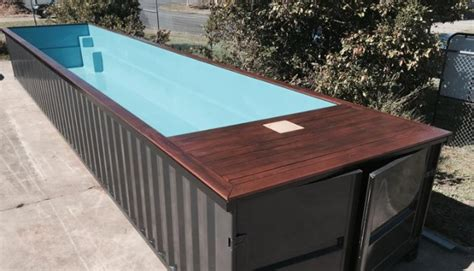 seecontainer pool shipping container swimming pools these units are ready