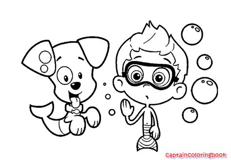 printable bubble guppies gil coloring pagesfree printable 83 gil with puppy printable coloring page of guppies