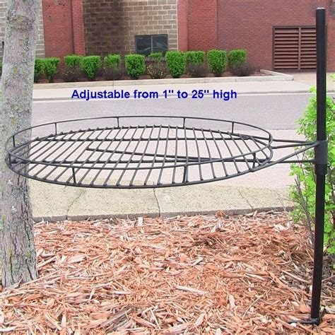 Outdoor Fit Pit Large 24 Quot Wide Cfire Pit Bbq Grill Cooking Grate