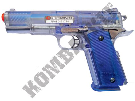 Airsoft Gun Paintball kombatkit firepower icon special edition paintball airsoft bb gun clear blue