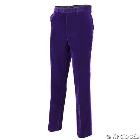 Velvet Trousers by Mens Vintage Slim Fit Soft Velvet Trousers Formal Dress