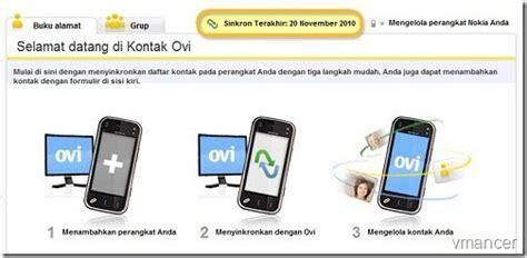 Hp Nokia Bisa Call sinkronisasi kontak hp nokia ke akun ovi vmancer