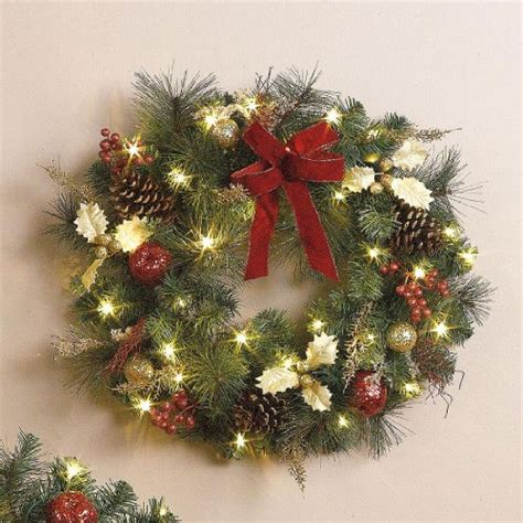 battery operated christmas wreaths best selection price
