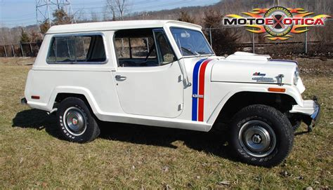 Ebay Find Of The Day 1970 Jeep Jeepster Commando Hurst