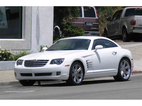 Chrysler Crossfire 2004 by 2004 Chrysler Crossfire For Sale Classiccars Cc 906270