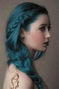 teal color hair teal hair hair color ideas