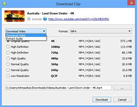 download mp3 youtube original quality 4k video downloader makes it easy to get videos from youtube