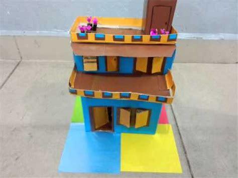 cara membuat rumah menggunakan kotak projek rekabentuk teknologi kh sek rendah doovi