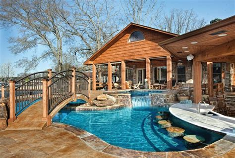 Pin By Luxury Pools Magazine On Pool Decks And Patios Amazing Backyard Pools
