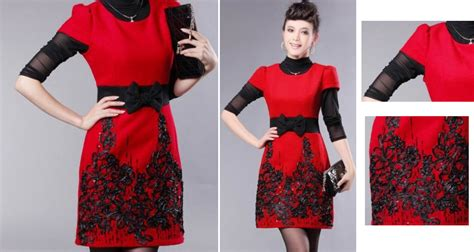 Dress Import China Kode Cc16025 1 baju import