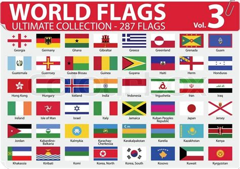 flags of the world to buy world flags ultimate collection 287 flags volume 3