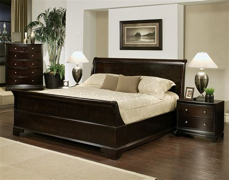 pc cooper sleigh bed set