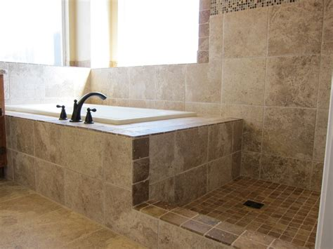 bathroom tub to shower remodel shower and tub master bathroom remodel traditional bathroom dallas by the