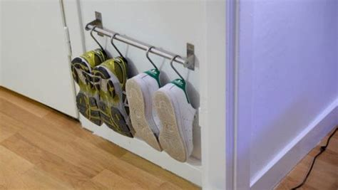 boot hangers ikea 28 creative shoe storage ideas that won t take much space