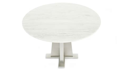 white marble dining table modern stainless steel and white marble sloan dining table