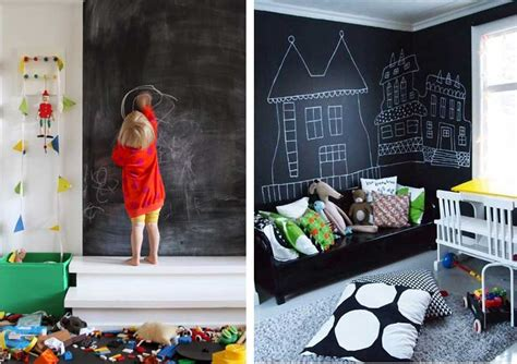 krijtverf kinderkamer kinderkamer inspiratie met schoolboordverf muur airmagazine