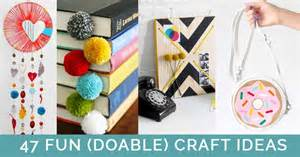 crafts to do at home projects to make at home when bored easy craft for