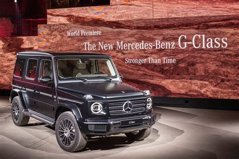 Mercedes G News by Mercedes G Class 2018 Pictures Specs And Info Car