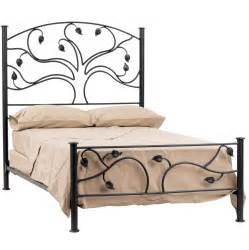 Wrot Iron Bed Live Oak Bed
