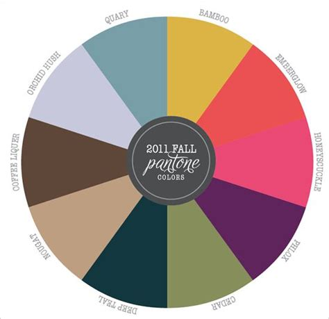 pantone color wheel 104 best images about rustic fall wedding ideas on