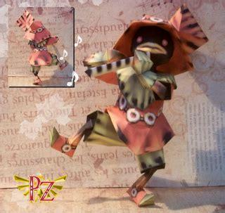 Legend Of Papercraft - ocarina of time skullkid papercraft papercraft