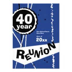 40 year reunion gifts t shirts art posters amp other