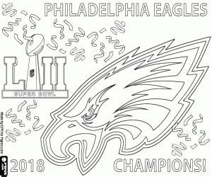 coloring page philadelphia eagles american football coloring pages printable games
