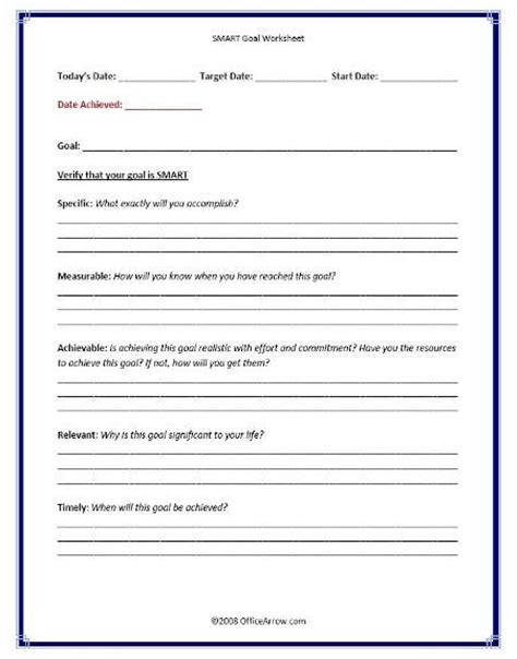 Smart Recovery Worksheets by Smart Goals Use For New Years Goals Counseling Stuff