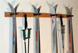 indoor wall ski rack gear talk newschoolers