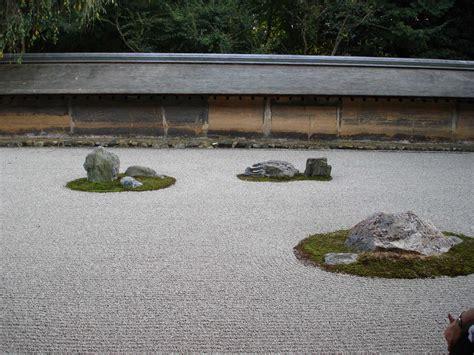 Japanese Zen Rock Garden Ryoanji Garden Design Garden Design