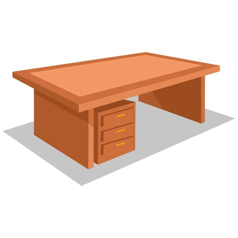Free Office Desk Vector For Free Use Office Desk