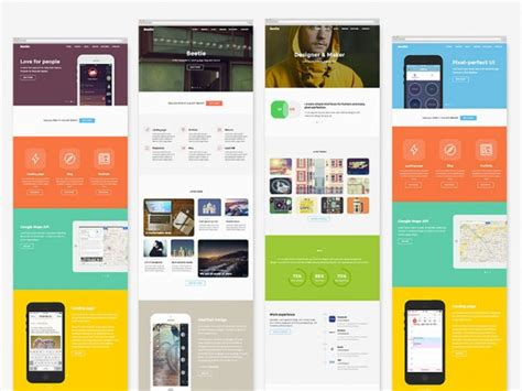 layout editor html5 beetle html5 template for designers freebiesbug