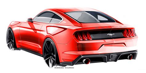 The Evolving Design Themes Of The 2015 Ford Mustang | the evolving design themes of the 2015 ford mustang
