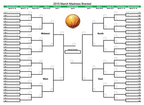 2015 ncaa march madness bracket cbs enter your ncaa bracket for a chance to win a march