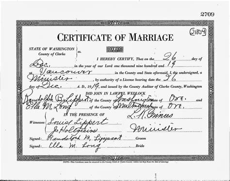 Wa State Marriage License Records Archives Lovebackup