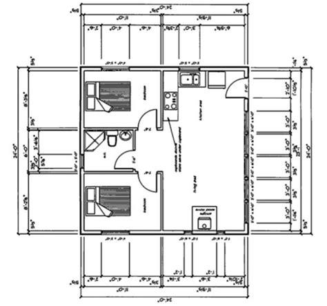 24x24 cottage plans 24x24 house plan houses house design