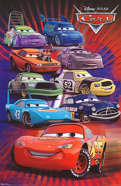 Cars Poster cars posters at poster warehouse movieposter