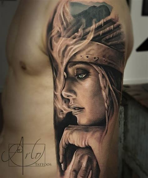 remarkable portrait tattoo inkstylemag
