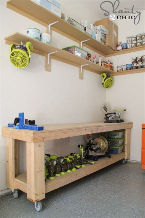 your own garage shelves woodworking projects plans