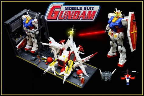 Kaos Gundam Mobile Suit 54 mobile suit gundam lego creations by pax