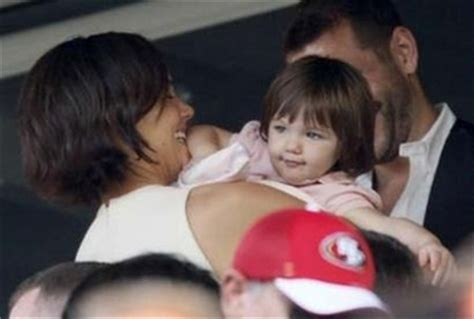 Tom Cruise Sign Suri Cruise As Baby Gap Model by Suri Cruise Signed As The New Of Baby Gap