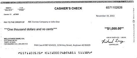 cashiers check template cashiers check template template design