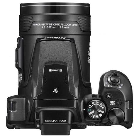 Nikon P900 Megapixel by Coolpix P900 Black