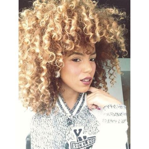 blonde natural hairstyles blonde curls blonde on naturals pinterest